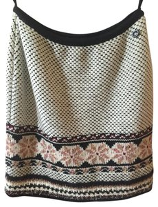 Chanel New Cashmere Wool Skirt Multi