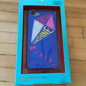 Kate Spade Kate Spade Hello Sunshine Kite iPhone 6, 6s Hybrid Hard Shell Case 8aru1213 $45