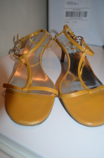 Gucci Strappy yellow leather Sandals Image 5