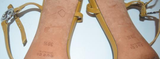 Gucci Strappy yellow leather Sandals Image 6
