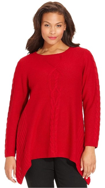 Preload https://img-static.tradesy.com/item/15239710/style-and-co-red-handkerchief-sweaterpullover-size-20-plus-1x-0-1-650-650.jpg