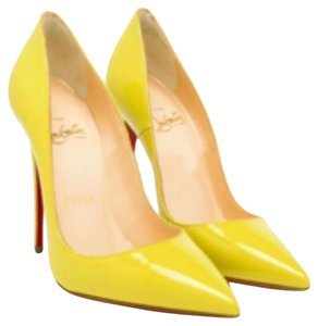 Christian Louboutin So Kate Stiletto Louboutin Yellow Pumps