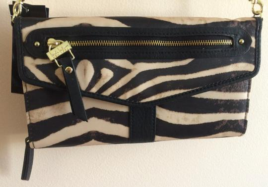 Nicole Miller Wallet Animal Print Cross Body Bag Image 1