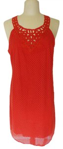 Max Studio short dress Orange on Tradesy