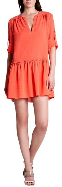 Preload https://img-static.tradesy.com/item/15240406/bcbgmaxazria-coral-lauryn-above-knee-short-casual-dress-size-2-xs-0-1-650-650.jpg