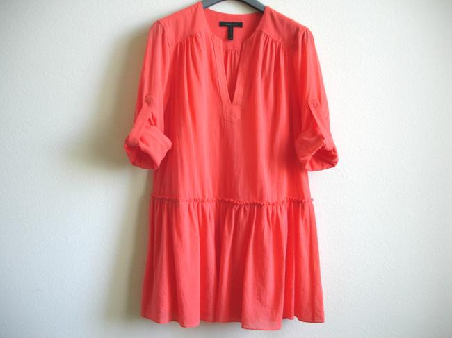 BCBGMAXAZRIA short dress coral Bcbg Shirtdress Shirt on Tradesy Image 1