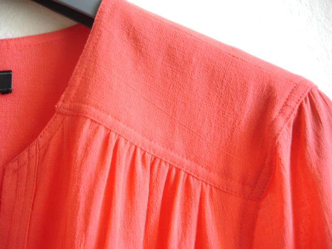 BCBGMAXAZRIA short dress coral Bcbg Shirtdress Shirt on Tradesy Image 3