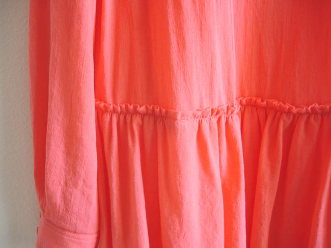 BCBGMAXAZRIA short dress coral Bcbg Shirtdress Shirt on Tradesy Image 5