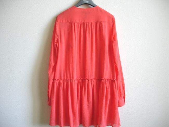 BCBGMAXAZRIA short dress coral Bcbg Shirtdress Shirt on Tradesy Image 6