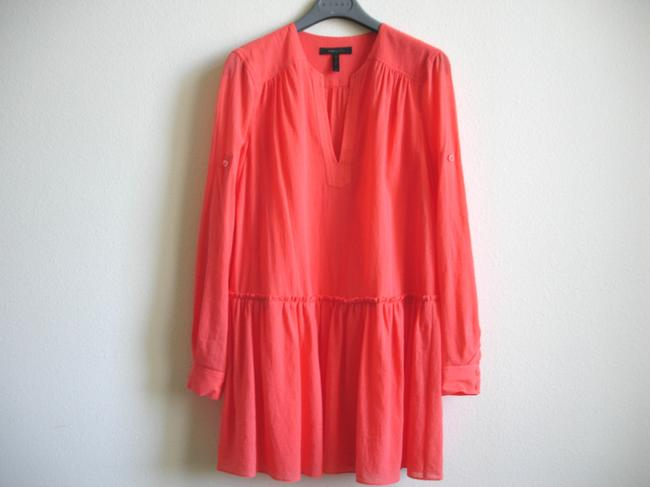 BCBGMAXAZRIA short dress coral Bcbg Shirtdress Shirt on Tradesy Image 7