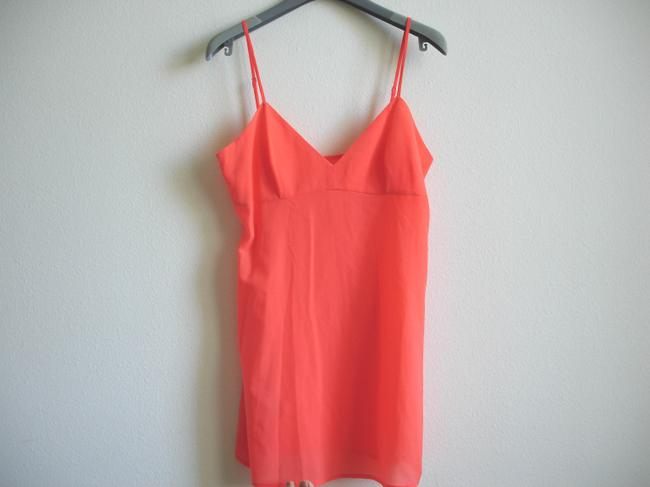 BCBGMAXAZRIA short dress coral Bcbg Shirtdress Shirt on Tradesy Image 9