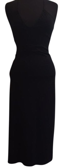 Parallel Black Mid-length Casual Maxi Dress Size 4 (S) Parallel Black Mid-length Casual Maxi Dress Size 4 (S) Image 1