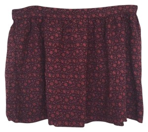 American Eagle Outfitters Mini Skirt Maroon