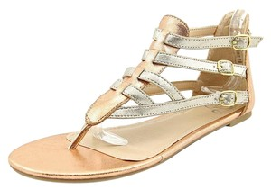 143 Girl Gold Sandals