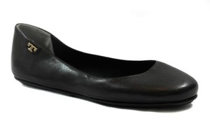 Tory Burch Nappa Leather Black Flats