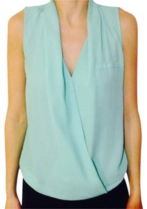 Active Basic Top Mint Green