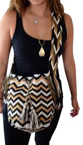 Wayuu Tribe Hand Made Crochet Coachella Festival Cross Body Bag