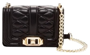 Rebecca Minkoff Quilted Mini Love Cross Body Bag