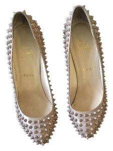 Christian Louboutin Dust Bag Nude patent Pumps