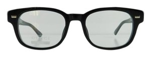 Gucci New Gucci GG 1081 4UA Black Acetate Full-Frame Eyeglasses 50mm Made in Italy