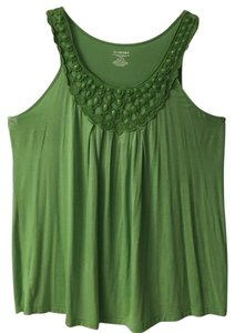 Lane Bryant Top Green