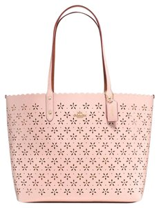 Coach Tote in Peach Rose Glitter