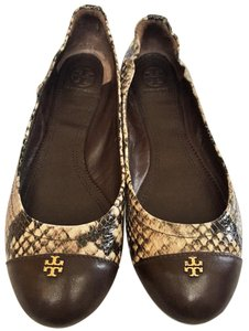 Tory Burch Coconut Brown Flats