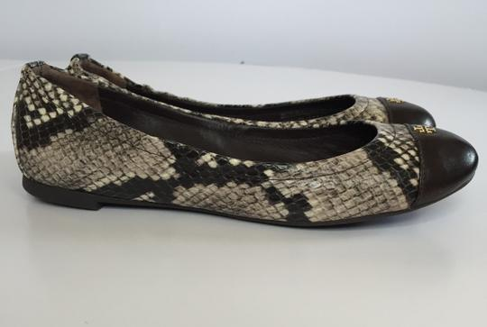 Tory Burch Coconut Brown Flats Image 1