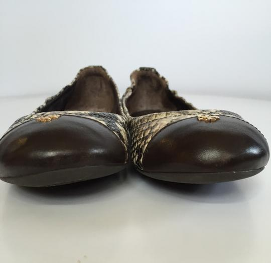 Tory Burch Coconut Brown Flats Image 3