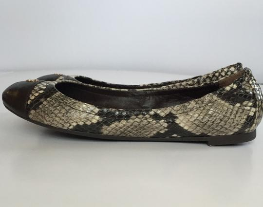 Tory Burch Coconut Brown Flats Image 5