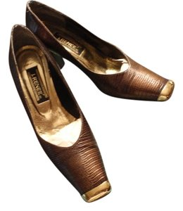 J. Renee Cognac Pumps