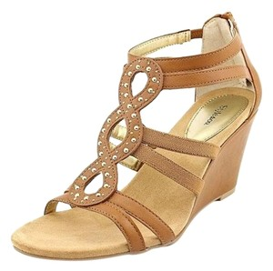Style & Co Tan Wedges
