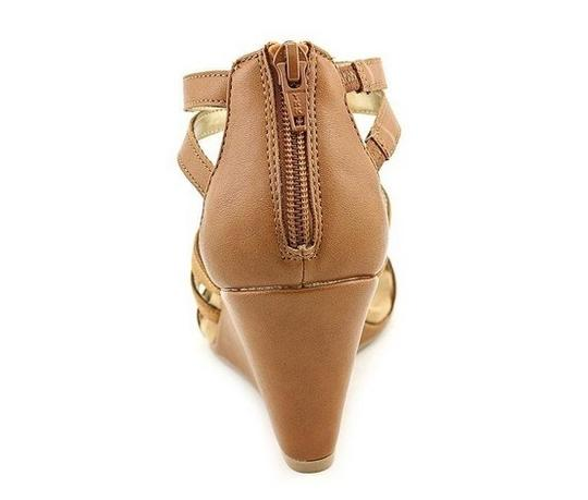 Style & Co Tan Wedges Image 1