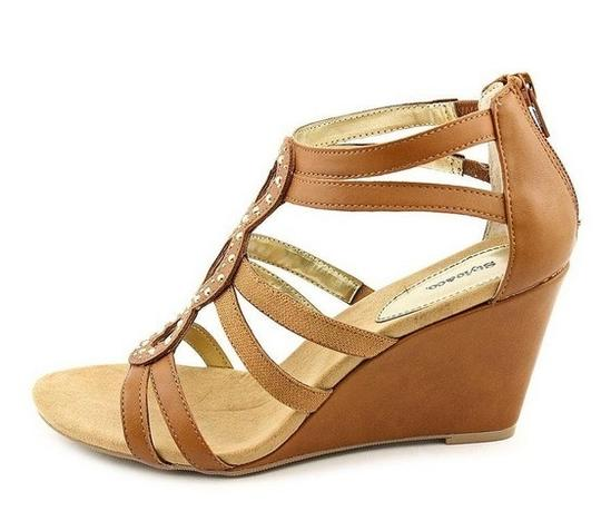 Style & Co Tan Wedges Image 2