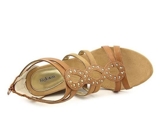 Style & Co Tan Wedges Image 3
