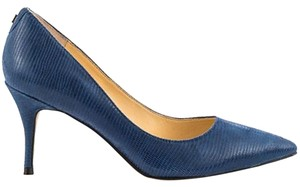 Ivanka Trump Tirra Navy Pumps