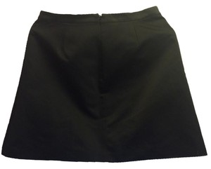 Madewell A-line Mini Mini Skirt Black