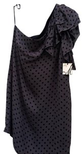 MILLY One Ruffles Shift Silk Tags Attached Dress