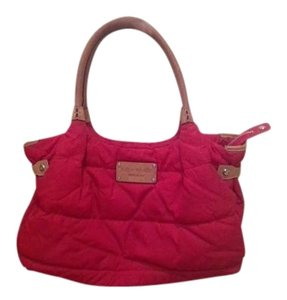 Kate Spade Purse Tote Satchel in Red
