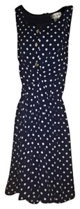 Emerald Sundae short dress Navy on Tradesy
