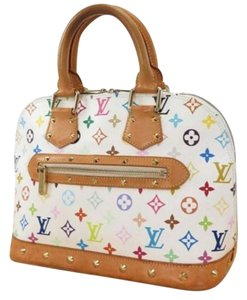 Other Louis French Multicolor Rare Discontinued Satchel in White