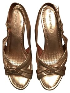 Ballasox by Corso Como Gold Wedges