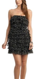 Guess short dress Black and White Polka Dot on Tradesy