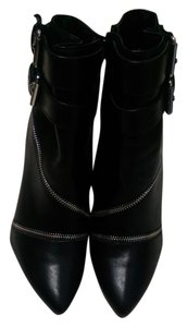JustFab Bootie Black Boots
