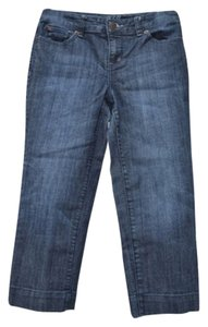 The Limited Capri/Cropped Denim-Medium Wash