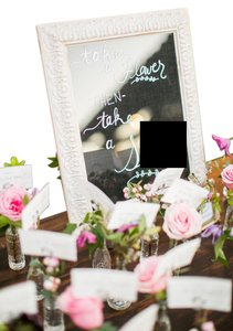 Two Frames For Wedding Signage