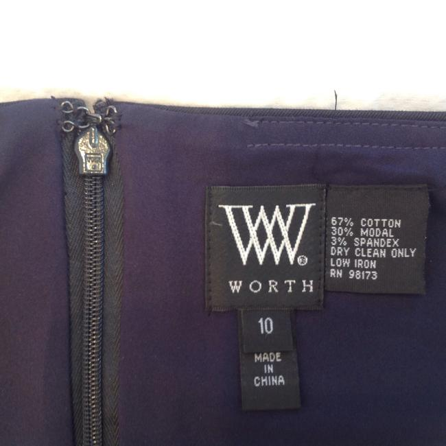Worth Skirt Navy Blue Image 3