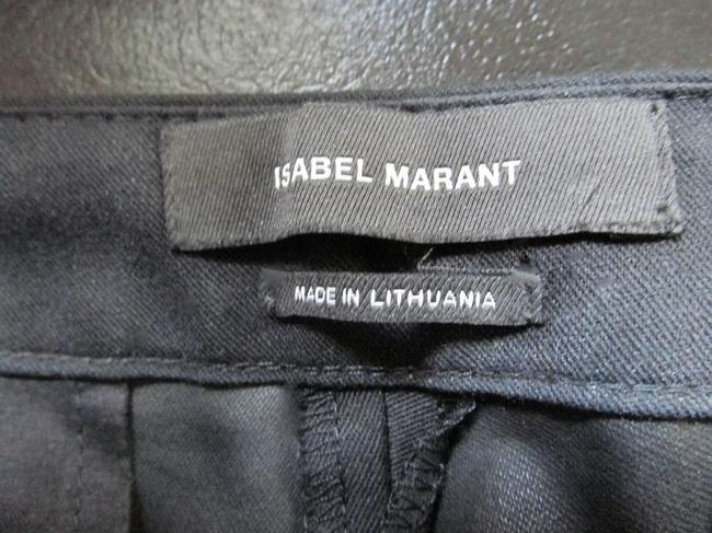 Isabel Marant Straight Pants Black