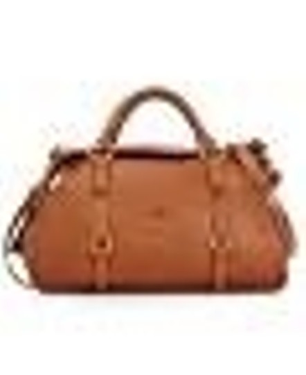 Dooney & Bourke Florence Vachetta Leather Satchel in Natural
