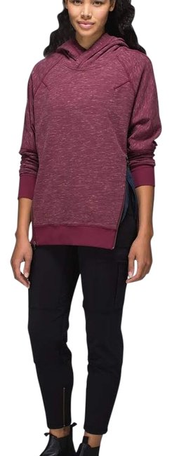 Item - Heathered Marled Rust Berry Om & Activewear Top Size 6 (S, 28)